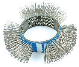 23mm Drahtbürste (weich/0,5mm) für Druckluft-Oberflächenschleifer