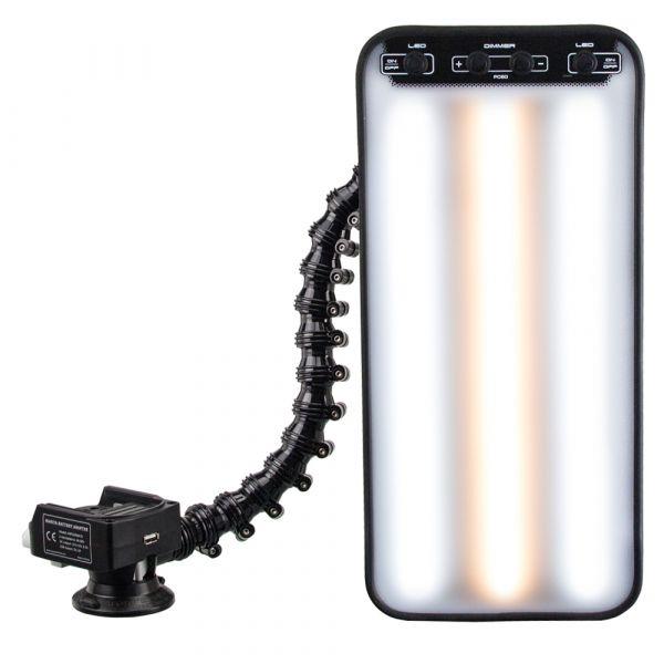LED Fixier-/ Ausbeullampe mit MAKITA AKKU-Halterung