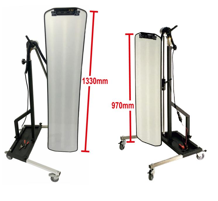 professionelle pdr lampe zum ausbeulen krauss tools. Black Bedroom Furniture Sets. Home Design Ideas