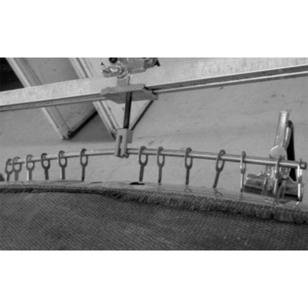 Zugstange / Durchschiebe-Dorn für lange gebogene Dellen und Kanten