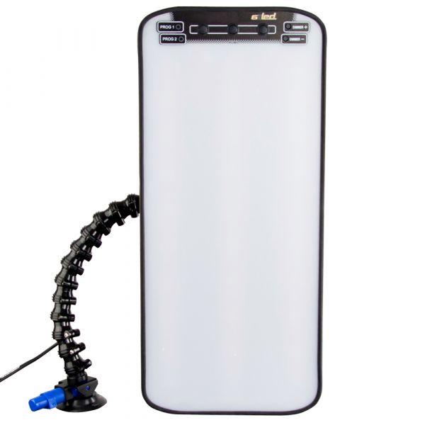 PDR Fixierlampe mit Saugfuß, Flexarm und 6 LED-Streifen