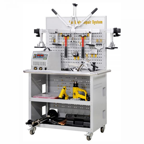 Karosserie-Ausbeulstation Car Body Repair System 4200