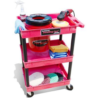 GRIT GUARD® Detailing Cart