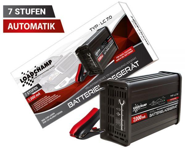 Ladegerät prozessorgesteuert für AGM-Batterien