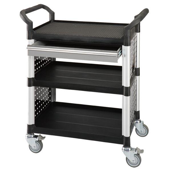 Werkstatt Servicewagen / Mehrzweckwagen mit Schublade und Seitenverkleidung