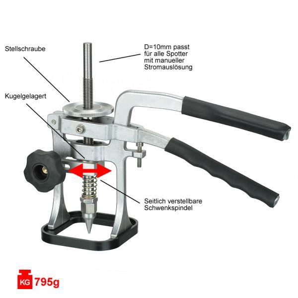 Universal-Puller / Ausbeulzange für Spotter mit manueller Stromauslösung